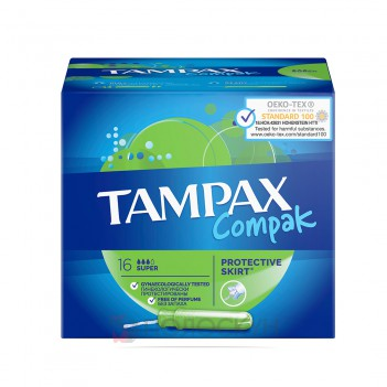 Тампони Compac Super Tampax