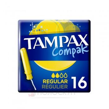 Тампони з аплікатором Compac Regular Duo Tampax