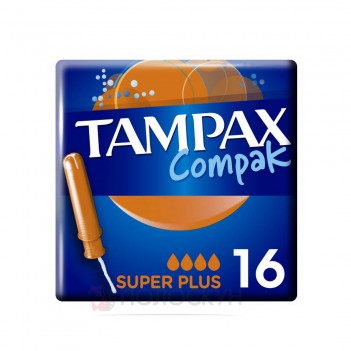 Тампони з аплікатором Compac Super Plus Duo Tampax
