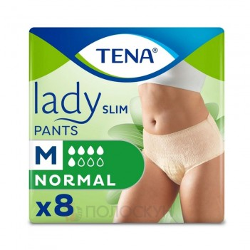 Урологічні підгузки-трусики Lady Slim Pants Normal Medium Tena