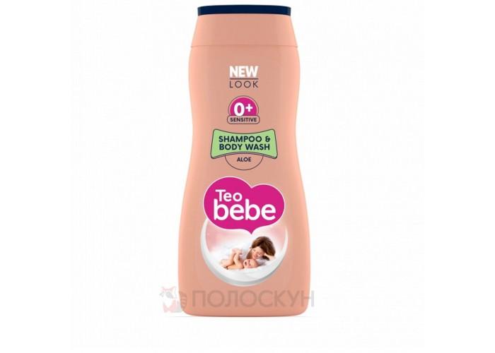 Дитячий шампунь-гель для душу Алое Teo Bebe