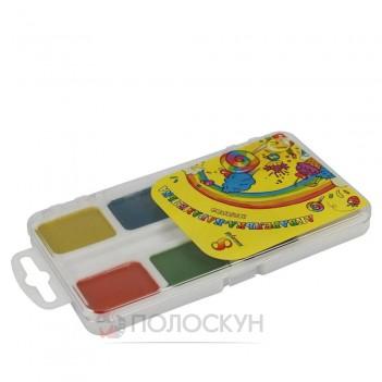 Фарби акварельні медові 10 кольорів Тетрада
