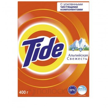 Пральний порошок Альпійська свіжість Ручне прання Tide