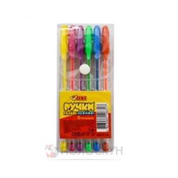 Гелеві ручки 6 кольорів TIKI