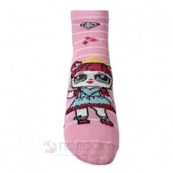 Дитячі шкарпетки з принцесами LOL 14-16р V&T