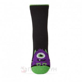 Дитячі шкарпетки з фіолетовим монстром 16-18р V&T
