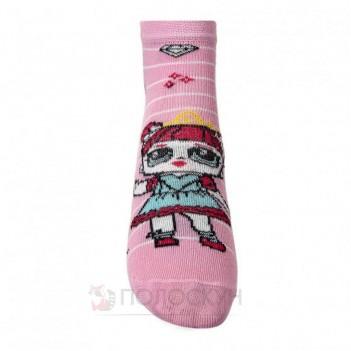 Дитячі шкарпетки з принцесами LOL 16-18р V&T