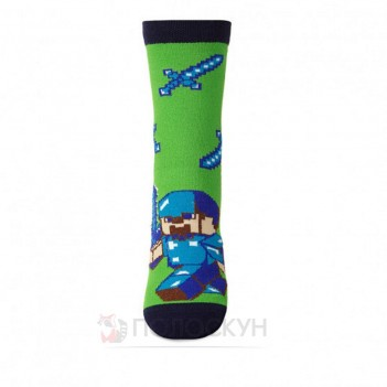 Дитячі шкарпетки Майнкрафт 16-18р V&T