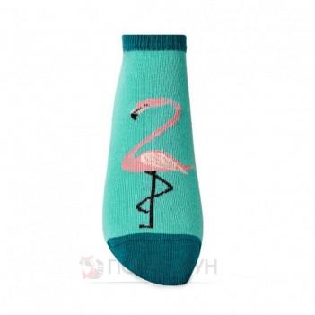 Жіночі шкарпетки сліди з фламінго 23-25р V&T