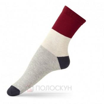 Жіночі шкарпетки Колорблок 23-25р V&T