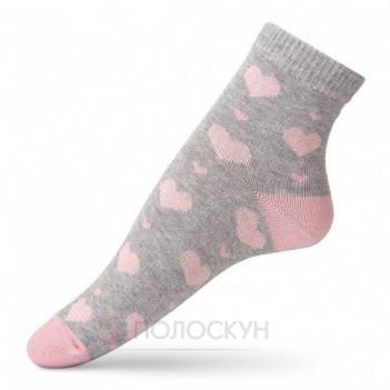 Жіночі шкарпетки серцями 23-25р V&T