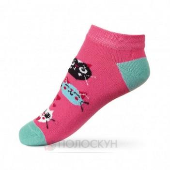 Дитячі шкарпетки з котиками 16-18р V&T