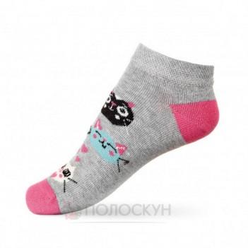 Дитячі шкарпетки з котиками 22-24р V&T