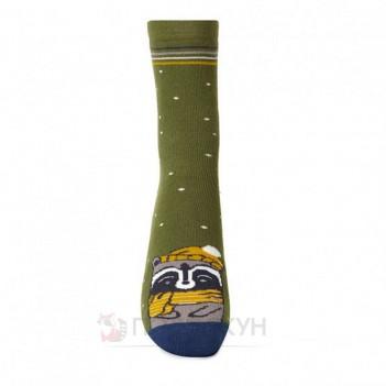 Жіночі шкарпетки з єнотом в береті 23-25р V&T