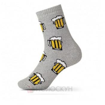 Чоловічі теплі шкарпетки Пиво 27-19р V&T