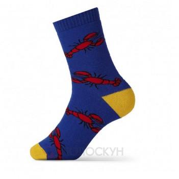 Чоловічі теплі шкарпетки з раками 27-29р V&T