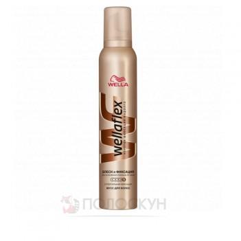 Піна для волосся - Блиск та фіксація Wellaflex