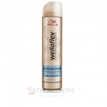Лак для волосся Миттєвий об'єм Wellaflex