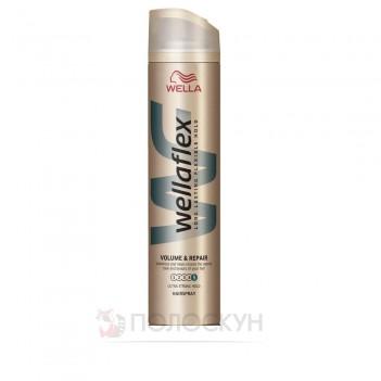 Лак для волосся Об'єм та Відновлення Wellaflex