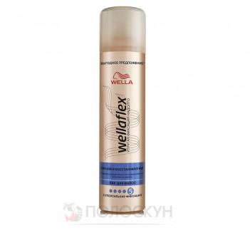 Лак для волосся Об'єм та відновленя Wellaflex
