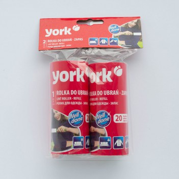 Запаски до ролика для чистки одягу York