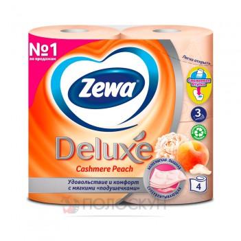 Туалетний папір Білий персик Zewa