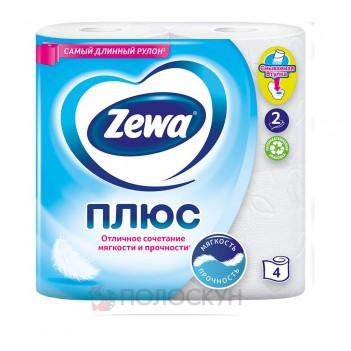 Туалетний папір Білий Zewa