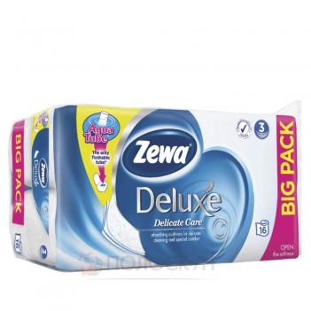 Туалетний папір 3-х шаровий Deluxe Delicate Zewa