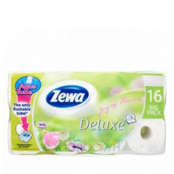 Туалетний папір 3-х шаровий Deluxe Zewa