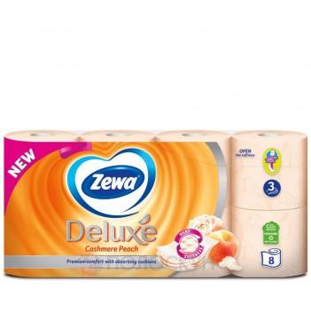 Туалетний папір Deluxe Персик Zewa