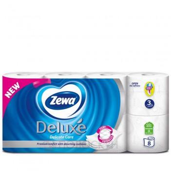 Туаелетний папір Deluxe Білий Zewa