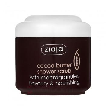 Скраб для тіла з мікрогранулами Какао-масло Ziaja